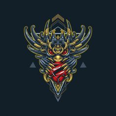 Dragon diamond illustration in cyborg st. Diamond Illustration, Owl Illustration, Rum, Supernatural Beings, Mythological Creatures, Art Deco Design, Gods And Goddesses, Fantasy World, Werewolf