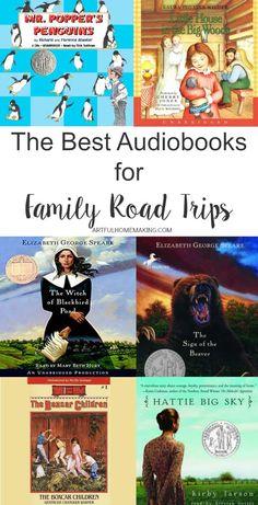6 Best Audiobooks for Family Road Trips - Kids Audio Books - ideas of Kids Audio Books - This is a great list of audiobooks for family road trips! Road Trip With Kids, Family Road Trips, Travel With Kids, Audio Books For Kids, Childrens Books, Kid Books, Best Audiobooks, Read Aloud Books, Software