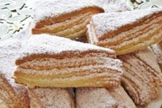 Discussion on LiveInternet - Russian Service Online diary Unique Recipes, Sweet Recipes, Cake Recipes, Russian Dishes, Russian Recipes, Sweet Pastries, Bread And Pastries, Good Food, Yummy Food