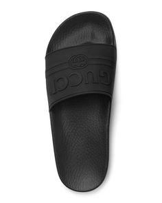 c079dcff7f8230 Gucci Pursuit Gucci Rubber Slide