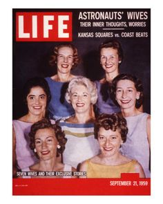The Astronaut Wives Club: Dishy gossip from a new book about the wives of the Mercury, Gemini, and Apollo astronauts.