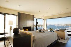 Luxury Apartment in California Incorporating Panoramic Windows