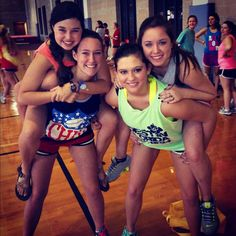 Chi Omega of Rhodes hosts their annual philanthropy event Chi Olympics to raise money for Make-A-Wish Foundation