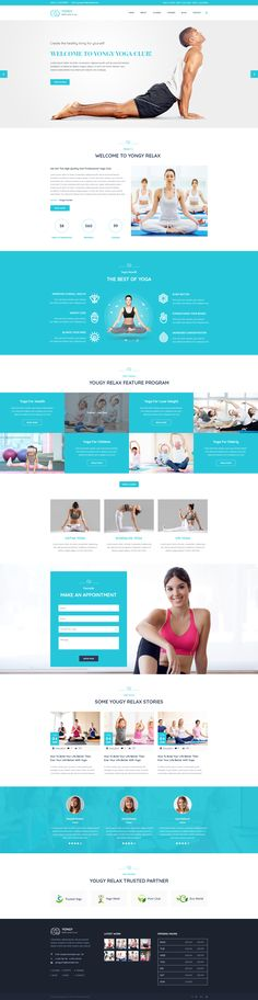 Yongy – Yoga & Health Center PSD Template is a sophisticated and creative PSD Template. Yongy must be the first and foremost choice for building a Yoga , Health, or Fitness center. This cool templ. Web Design Tools, Web Design Projects, App Ui Design, Tool Design, Website Design Layout, Website Design Inspiration, Layout Design, Yoga Websites, Health Center