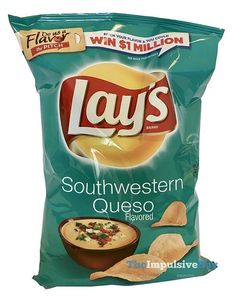 Lay's Southwestern Queso Potato Chips