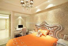 Warm Orange European child room decoration 2016