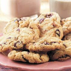 Gooseberry Patch Recipes: White Chocolate-Cranberry Cookies from All Though the Seasons Cookbook