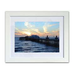 All Products • gorgeous gifts from the Seaside Emporium Seaside Resort, Evening Sky, Blackpool, Starling, Winter Months, New Image, Original Paintings, Coast, Framed Prints