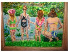 Four Cousins at Deleon Springs, FL ~ Pastel