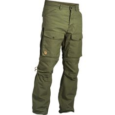 Fjällräven Gaiter Trousers No.1 Advanced trekking trousers in G-1000 Eco and G-1000 HD for demanding outdoor activities any season of the year. Innovative zip-off solution with built-in gaiter.