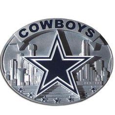 Dallas Cowboys NFL Enameled Belt Buckle