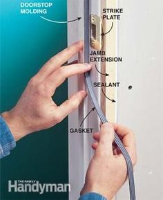 Seal the doors when you soundproof a room