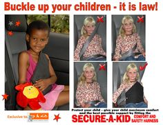 Secure a Kid - BUCKLE UP and be safe for the holidays!