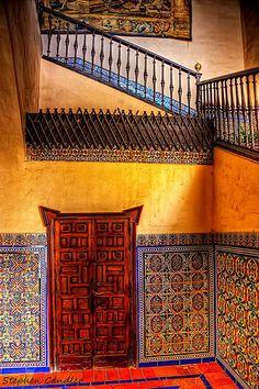 Alcazar Doorway & Stairs