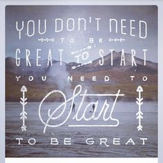 Darren Rowse : You don't need to be great to start. You need to start to be great! #pbevent