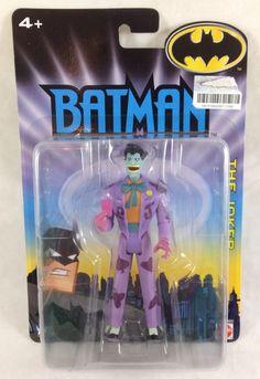Batman Animated Series The Joker Action Figure 2008 Mattel Collector DC Comics | eBay
