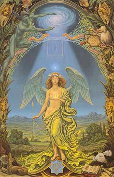Buy Virgo posters and Virgo canvas prints from Johfra Bosschart's zodidac series. Also greeting card sets including Virgo. Zodiac Art, Virgo Zodiac, Zodiac Signs, Virgo Astrology, Art Zodiaque, Art Visionnaire, Esoteric Art, Occult Art, Visionary Art