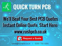 Something we loved from Instagram! RUSH PCB Quickturn pcb #pcb #pabmanufacture  #pcbdesign #prototype and #pcbassembly #ledpcb #electricalengineering #electronic #engineering #hobbyist #startup #kickstarter #circuitboard #uk #london #electronics #tech  #technology #instatech #gadgets #device #engineer #robots  #flexpcb #rigidflex #raspberrypi #circuit #robots #arduino #bom  read more on: www.rushpcb.co.uk/  02037500201 email us on: sales@rushpcb.co.uk by rushpcbuk Check us out…