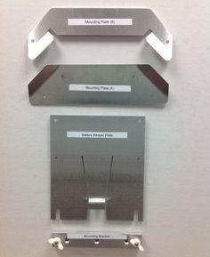 Dry Flush Portable Toilet Floor Mount Kit