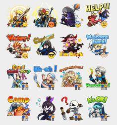 Brave Frontier Stickers Set | Telegram Stickers