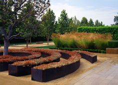 lrm landscape architects / sculpture garden, cerritos