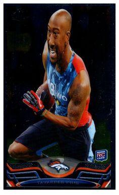 2013 Topps Chrome Tavarres King Rookie Card Denver Broncos