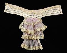 Jabot Date: ca. 1905 Culture: American Medium: Silk