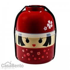 Little Kokeshi Hanako Bento Box