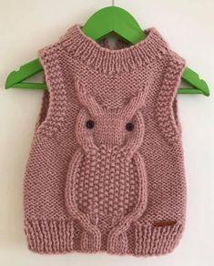 Baby Boy Knitting Patterns, Baby Hats Knitting, Knitting For Kids, Baby Patterns, Crochet For Boys, Crochet Baby, Knitted Owl, Knit Vest Pattern, Baby Cardigan