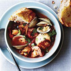 Seafood Cioppino   CookingLight.com