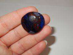 Sugilite with Richterite cabochon by earthlightgems on Etsy