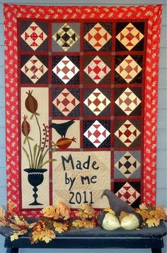 Pomegranates and Patches pattern by Tammy Johnson and Avis Shirer