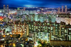 The Citylife in Korea Photo by Jason Teale -- National Geographic Your Shot