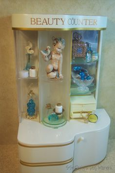 18/365: Beauty Counter Display by SS-Designs Doll Interiors, via Flickr