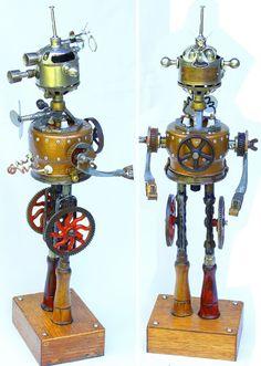 Gallery of Pseudo-Victorian, Steampunkesque & Retro Robot Art | WebUrbanist