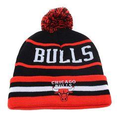 Newera NBA Chicago Bulls knit hats Olympic Basketball d347cce11