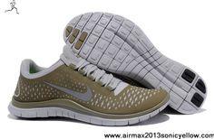 Fashion Nike Free 3.0 V4 Light Bone Reflect Silver Iguana 511457-003 Mens Fashion Shoes Store