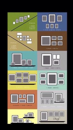 Picture Frame Placing Ideas!!!! #Home #Garden #Trusper #Tip