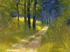 Park Road 9 by Rita Kirkman Pastel ~ 6 x 8 inches