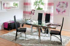 Decoração da sala: mesas e cadeiras