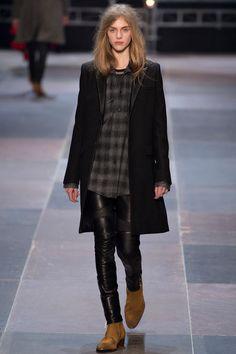Menswear: Fall 2013 by Saint Laurent.