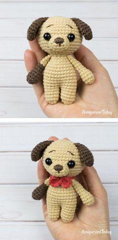 Mesmerizing Crochet an Amigurumi Rabbit Ideas. Lovely Crochet an Amigurumi Rabbit Ideas. Knit Or Crochet, Crochet Crafts, Crochet Toys, Crochet Projects, Free Crochet, Crochet Dog Patterns, Amigurumi Patterns, Crochet Designs, Mini Puppies