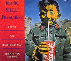 """For Sale - Manic Street Preachers Faster/PCP - Digipak UK  CD single (CD5 / 5"""") - See this and 250,000 other rare & vintage vinyl records, singles, LPs & CDs at http://eil.com"""