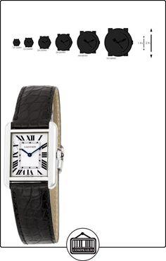 Cartier W5200005 - Reloj para mujeres, correa de cuero  ✿ Relojes para mujer - (Lujo) ✿