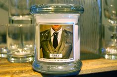 Kringle Candle's Grey is sophisticated with its confident blend of citrus, florals, exotic woods and musk.
