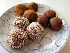 Mi horno de leña: Trufas de chocolate