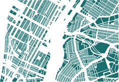 Fun Maps: Block by Block with Jazzberry Blue and Armelle Caron. A city's shapes are invisible from the the ground. These maps by Jazzberry Blue and Armelle Caron celebrate the incredible shapes we live within: the city block New York From Above, City Grid, Map Diagram, Blog Art, Artist Project, Armelle, Urban Fabric, Map Design, Atelier