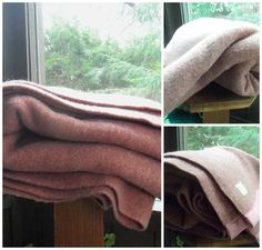 Orrspun Wool Blanket Full Size Wool Blanket by TheVintagePorch