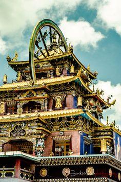 Golden Temple, Mysore, India