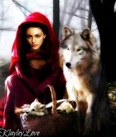 Fan(g) Art: Hayley Marshall as Red Riding Hood Alongside The Big Bad Wolf http://sulia.com/channel/vampire-diaries/f/ae2efea5-a408-467a-93c0-4e793dbe5ac3/?source=pin&action=share&btn=small&form_factor=desktop&pinner=54575851